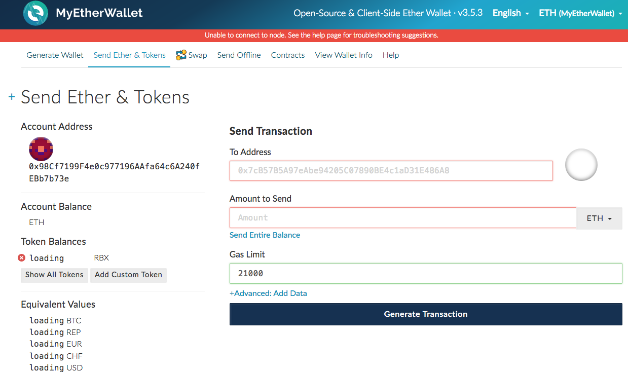 Setting Up An Account For Buying Bitcoin Ethereum Hex Or